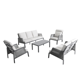 Nuu Garden Kuta Rope Lounge Set