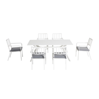 Nuu Garden Weddell 7-piece Dining Set