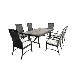 Patio Time Russell 7-piece Wicker Dining Set